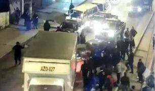 Los Olivos: responsable de atropellar a serenos es detenido y denunciado