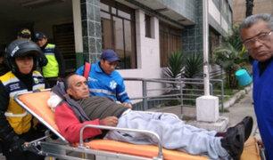 Lince: sereno encuentra anciano desaparecido que sufría de lesión cerebral