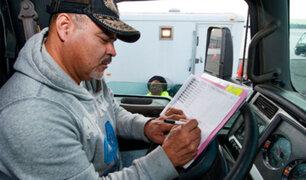 España: gobierno promulga ley que exige a camioneros tener bachillerato