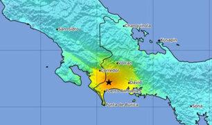 Sismo de 6,3 alarmó a Costa Rica y Panamá
