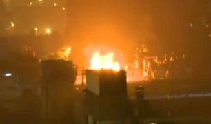 Violento motín en penal de Lurigancho dejó 15 heridos