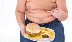 Minsa: más de 2.5 millones de niños menores de cinco años sufren de obesidad