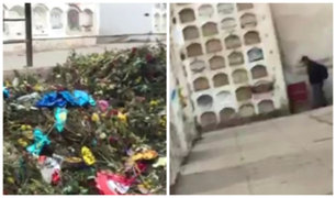 Callao: Cementerio Baquijano luce con desperdicios y basura