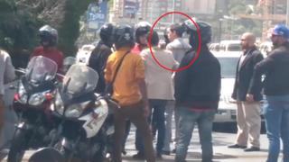 Juan Guaidó frustró intento de secuestro de su equipo en autopista de Venezuela