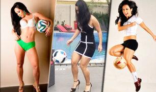 """Esta brasilera deslumbra con el """"freestyle"""" y su sensualidad"""