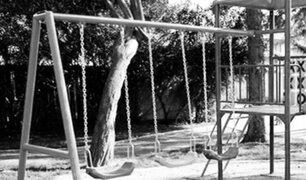 San Borja: Niña de 4 años se habría fracturado el cráneo tras caer de juegos infantiles