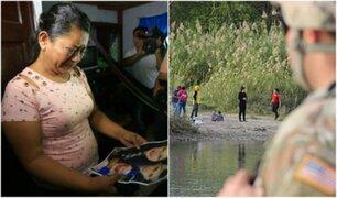 El desgarrador relato de abuela de niña fallecida en frontera de México