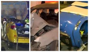 Nueve muertos tras accidentes de tránsito en madrugada de este jueves 27