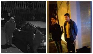La Molina: sujetos son detenidos tras intentar robar autopartes de vehículo