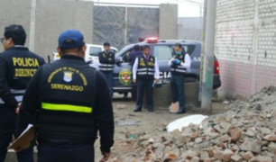 Encuentran cadáver de mujer en calle de Villa El Salvador