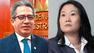 Caso Keiko Fujimori: declaran fundada inhibición del juez Aldo Figueroa