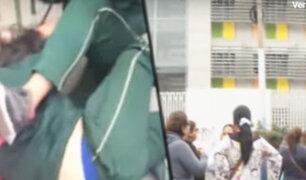 Se registra otra pelea de escolares en colegios del Rímac