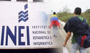 INEI reveló datos estadísticos sobre migrantes venezolanos