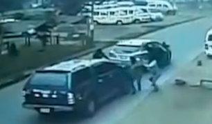 Empresario asaltado en Los Olivos fue auxiliado por vecinos