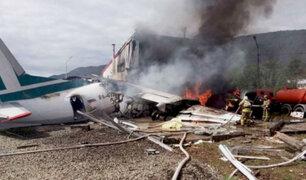 Rusia: cifra de heridos por aterrizaje de emergencia se eleva a 30