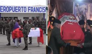 Familiares de militares muertos en el Vraem reciben cadáver equivocado