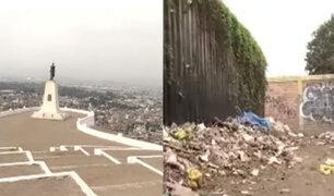 Chorrillos: escenario de Batalla de San Juan luce abandonado y lleno de basura