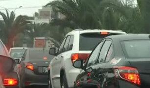 El Derby: se registra mejora en situación del tráfico vehicular