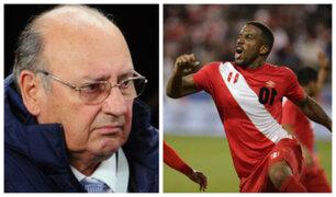 Sergio Markarían: Ausencia de Jefferson Farfán resta mucho a Selección Peruana
