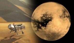 NASA diseña un dron 'libélula' que será enviado a Titán