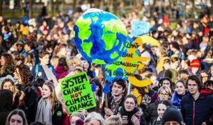 Ciudadanos realizan protestas en Francia, Alemania y Suiza por calentamiento global