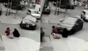 Santa Anita: dos mujeres fueron atropelladas por auto que iba a excesiva velocidad