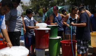 ¿Cómo se preparan los limeños para el corte de agua de Sedapal?