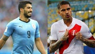 Duelo de goleadores: Guerrero y Suárez liderarán ataque de sus selecciones