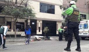 SJL: 'raquetero' fue abatido tras persecución policial