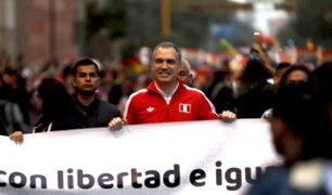 Del Solar es el primer presidente del Consejo de Ministros en acompañar marcha LGTBI