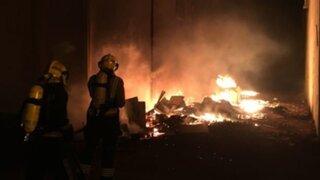 Chorrillos: incendio destruye varias viviendas de un solar