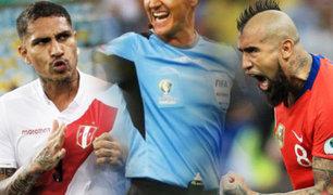 """Perú vs. Chile: este será el arbitro que dirigirá el """"Clásico del Pacífico"""""""