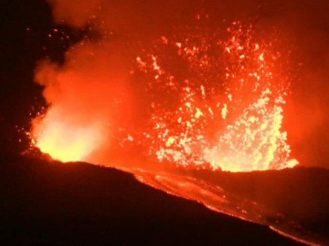 Italia: alerta por nueva entrada en erupción del volcán Etna