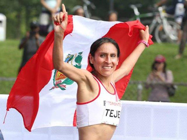 Atleta Gladys Tejeda ganó competencia Quito-Últimas Noticias 15K