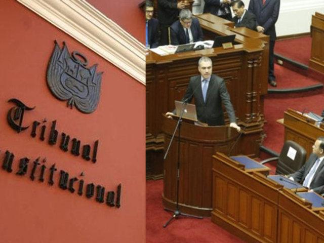 Congreso aprueba interponer acción ante el TC para esclarecer cuestión de confianza