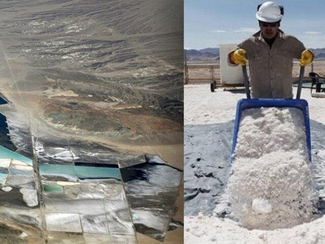 Puno: hallan reservas de litio en el sexto yacimiento más grande del mundo
