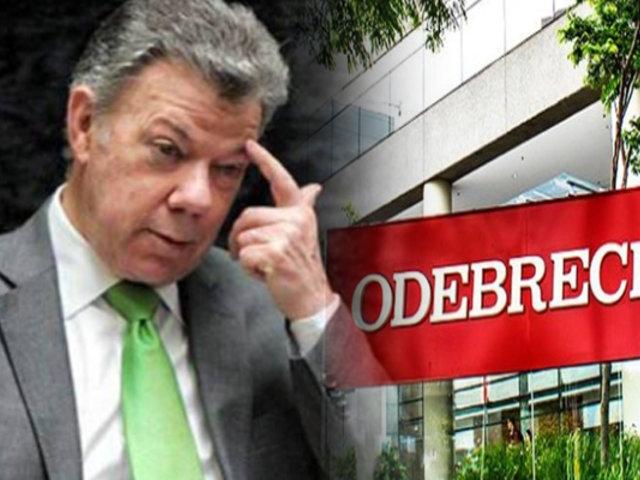 Colombia: abren investigación a expresidente Santos por Caso Odebrecht