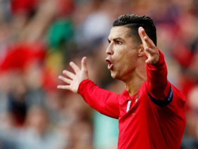 'CR7' marca triplete y mete a Portugal en la final de la UEFA