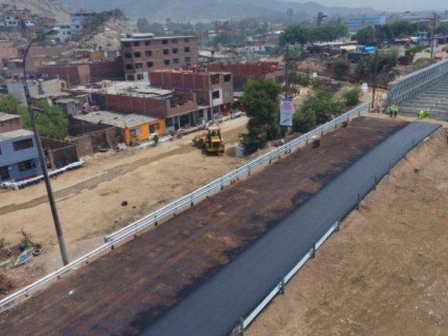 Muñoz pide reformular trazo del proyecto de ampliación de autopista Ramiro Prialé