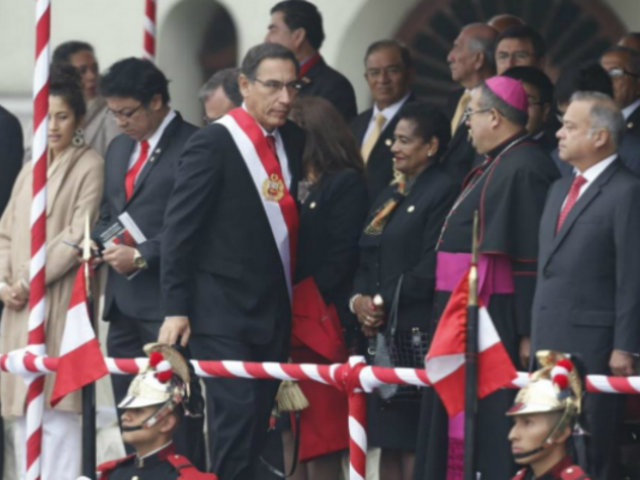 Presidente Vizcarra lidera ceremonia por 139 aniversario de Batalla de Arica