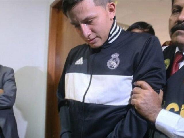 PJ prolonga prisión preventiva por tres meses más a 'Gringasho'