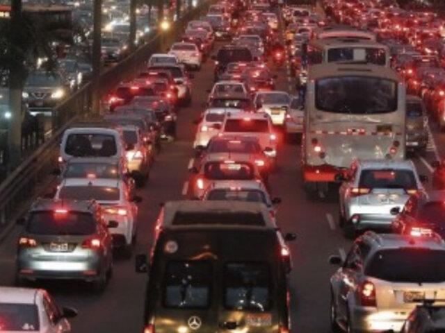 Lima entre las ciudades con más congestión vehicular del mundo