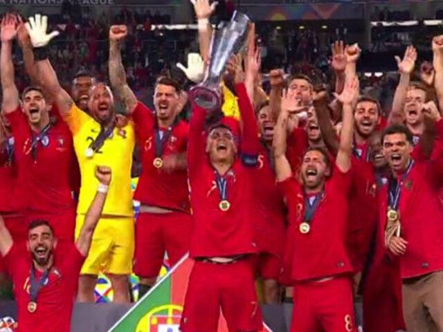 Portugal se consagra campeón de la UEFA Liga de Naciones tras vencer a Holanda