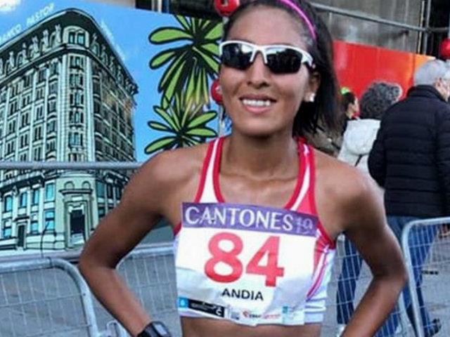 Mary Luz Andia: marchista peruana clasificó a Juegos Olímpicos Tokio 2020