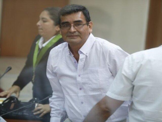 César Álvarez ya se encuentra en  penal de Challapalca