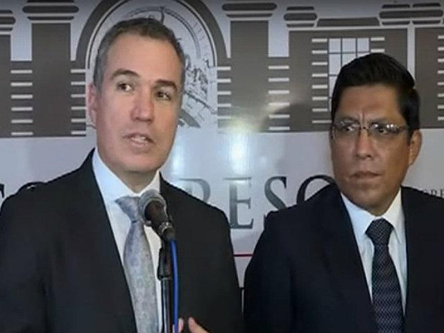 Congreso: Del Solar y Zeballos sustentaron proyecto de adelanto de elecciones