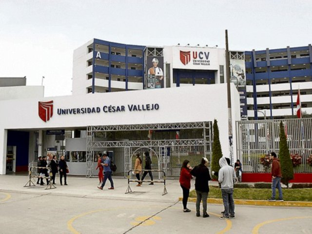 Universidad César Vallejo obtiene licenciamiento de Sunedu
