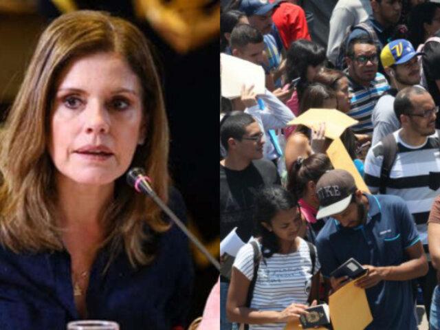 Aráoz: el mundo le da la espalda a países que abrieron sus brazos a venezolanos