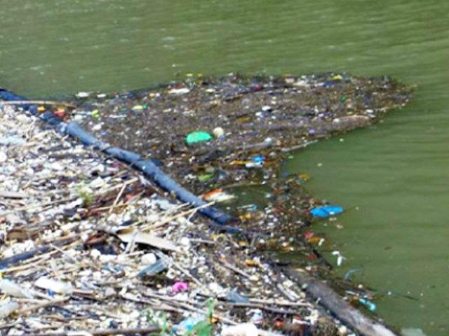 Comprueban alto grado de contaminación del río Huallaga