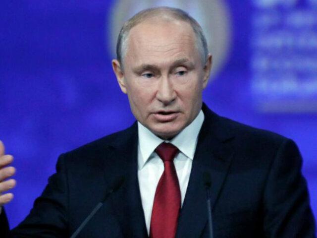 Vladímir Putin: relaciones con EEUU son cada vez